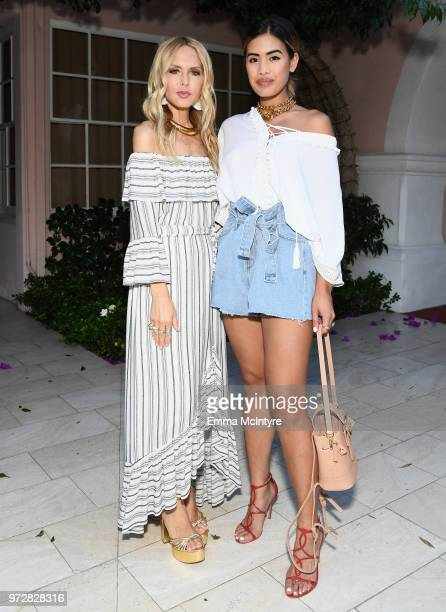 Rachel Zoe and Jill Wallace attend Summer '18 Box of Style by Rachel Zoe Soiree at Hotel Bel Air on June 12 2018 in Los Angeles California