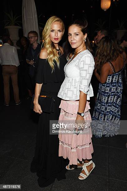 Rachel Zoe and Margherita Missoni attend the debut of Margherita Missoni and Peroni Nastro Azzurro's Fall fashion collaboration during New York...