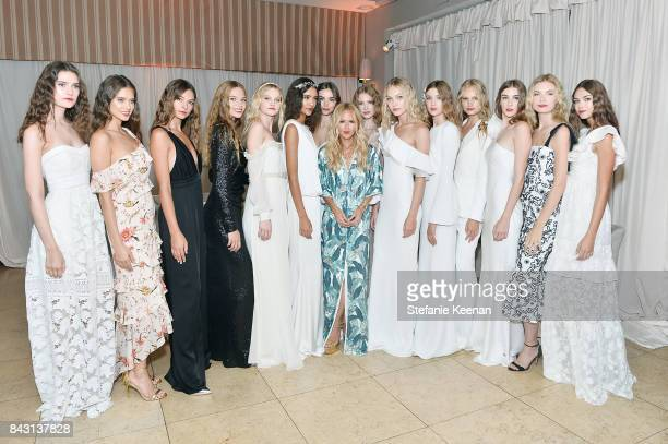Rachel Zoe and models at Rachel Zoe SS18 Presentation at Sunset Tower Hotel on September 5 2017 in West Hollywood California