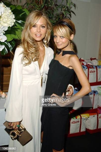 Rachel Zoe and Nicole Richie during Allure and Linda Wells's Summer Cocktail Party at Hamasaku Restaurant in Los Angeles California United States