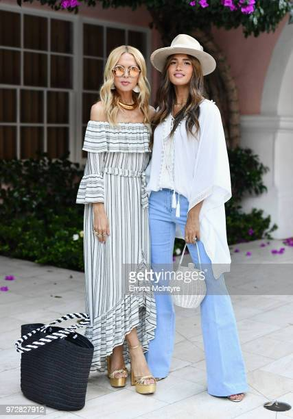 Rachel Zoe and Rocky Barnes attend Summer '18 Box of Style by Rachel Zoe Soiree at Hotel Bel Air on June 12 2018 in Los Angeles California