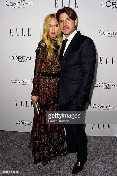 Rachel Zoe and Rodger Berman attend the 22nd Annual ELLE Women in Hollywood Awards presented by Calvin Klein Collection L'Oréal Paris and David...