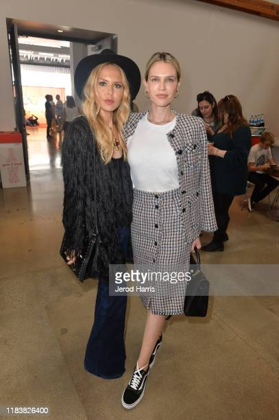 Rachel Zoe and Sara Foster attend the Elizabeth Glaser Pediatric AIDS Foundation's 30th Annual A Time for Heroes Family Festival at Smashbox Studios...