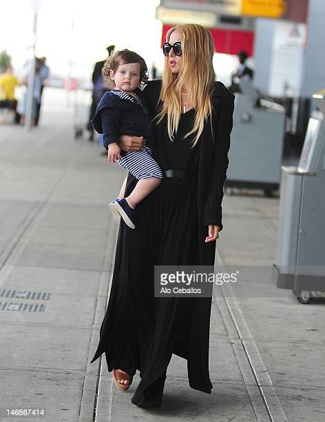 Rachel Zoe and Skyler Berman are seen on June 19 2012 in New York City