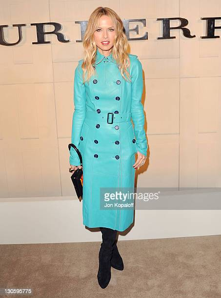 Rachel Zoe arrives at Burberry Hosts Launch Party For New Fragrance 'Burberry Body' at Burberry on October 26 2011 in Beverly Hills California
