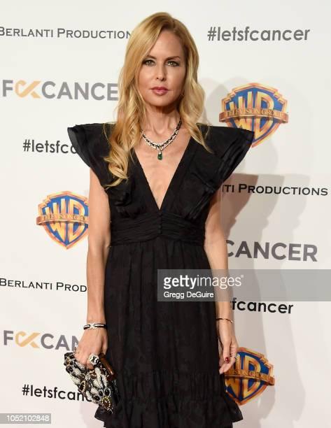 Rachel Zoe arrives at FCancer's 1st Annual Barbara Berlanti Heroes Gala at Warner Bros Studios on October 13 2018 in Burbank California