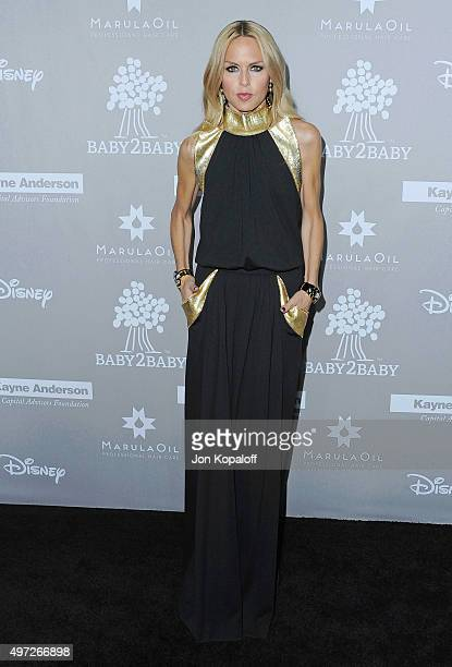 Rachel Zoe arrives at the 2015 Baby2Baby Gala at 3LABS on November 14 2015 in Culver City California