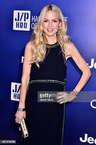 Rachel Zoe arrives at the 4th Annual Sean Penn Friends 'Help Haiti Home' Gala Benefit at the Montage Hotel on January 10 2015 in Los Angeles...