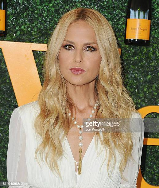 Rachel Zoe arrives at the 7th Annual Veuve Clicquot Polo Classic at Will Rogers State Historic Park on October 15 2016 in Pacific Palisades California