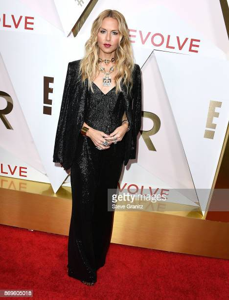 Rachel Zoe arrives at the #REVOLVEawards at DREAM Hollywood on November 2 2017 in Hollywood California