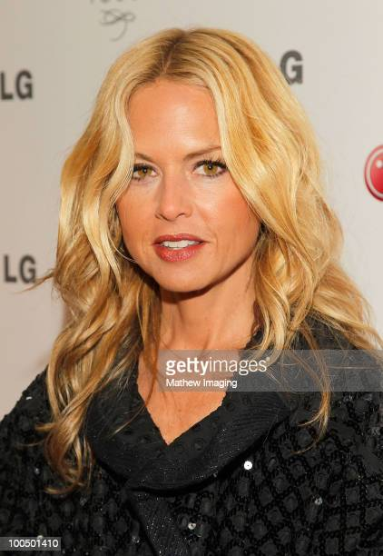 Rachel Zoe arrives at the Victoria Beckham and Eva Longoria Parker Host a Night of Fashion and Technology with LG Mobile Phones at Soho House on May...