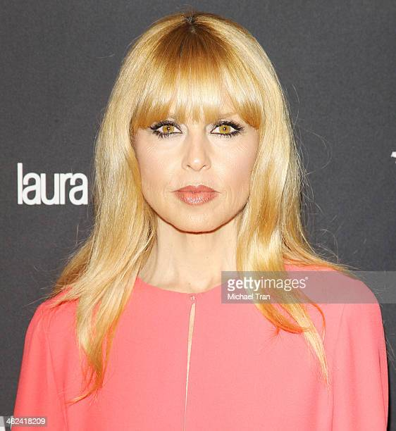 Rachel Zoe arrives at The Weinstein Company and NetFlix 2014 Golden Globe Awards after party held on January 12 2014 in Beverly Hills California