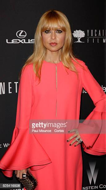 Rachel Zoe arrives at the Weinstein Company Golden Globes AfterParty