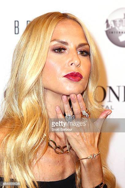 Rachel Zoe arrives to attend the 'Icons of Style' campaign launch at Chadstone Shopping Centre on August 20, 2015 in Melbourne, Australia.