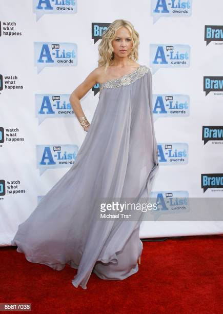Rachel Zoe arrives to Bravo's 2nd Annual AList Awards held at The Orpheum Theatre on April 5 2009 in Los Angeles California