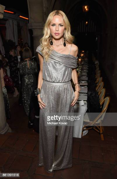 Rachel Zoe at Rachel Zoe's Box of Style Holiday Supper at Chateau Marmont on November 28 2017 in Los Angeles California