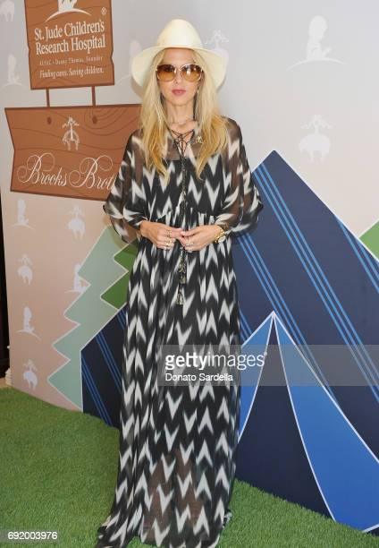 Rachel Zoe at the Brooks Brothers Beverly Hills summer camp party benefitting St Jude Children's Research Hospital at Brooks Brothers Rodeo on June 3...
