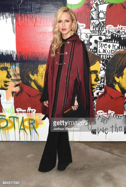 Rachel Zoe at the TommyLand Tommy Hilfiger Spring 2017 Fashion Show on February 8 2017 in Venice California