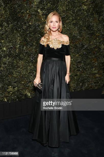 Rachel Zoe attends Chanel And Charles Finch Pre-Oscar Awards Dinner at Polo Lounge at The Beverly Hills Hotel on February 23, 2019 in Beverly Hills,...