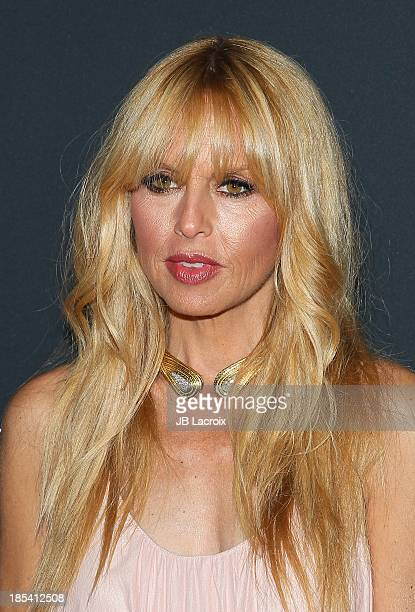 Rachel Zoe attends Elyse Walker Presents The Pink Party 2013 hosted by Anne Hathaway at The Barker Hanger on October 19 2013 in Santa Monica...