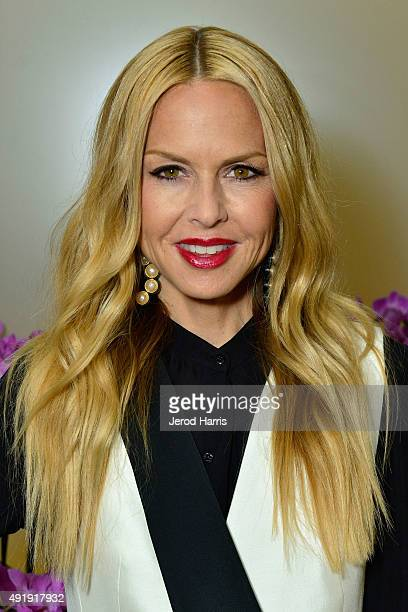 Rachel Zoe attends 'Live The Look' South Coast Plaza Style fashion show at South Coast Plaza on October 8 2015 in Costa Mesa California