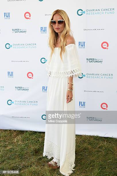Rachel Zoe attends OCRF's 18th Annual Super Saturday NY Hosted by Donna Karan and Kelly Ripa on July 25 2015 in Water Mill City