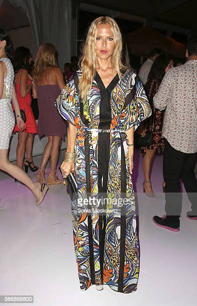 Rachel Zoe attends the 2016 Paddle Party for Pink at Fairview Farm on Mecox Bay on August 6 2016 in Bridgehampton New York