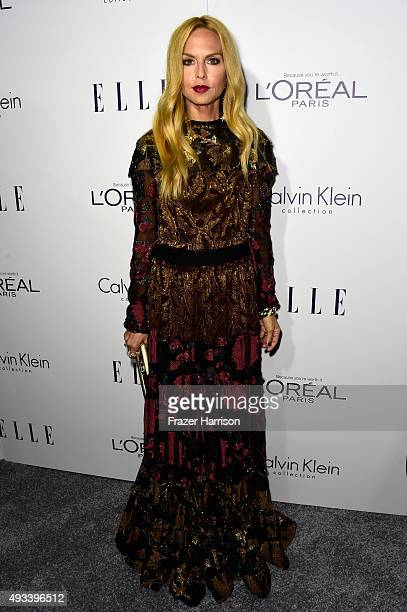 Rachel Zoe attends the 22nd Annual ELLE Women in Hollywood Awards presented by Calvin Klein Collection L'Oréal Paris and David Yurman at the Four...