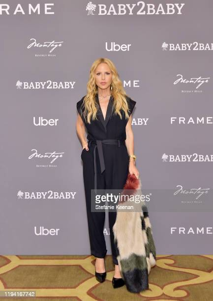 Rachel Zoe attends The Baby2Baby Holiday Party Presented By FRAME And Uber at Montage Beverly Hills on December 15, 2019 in Beverly Hills, California.