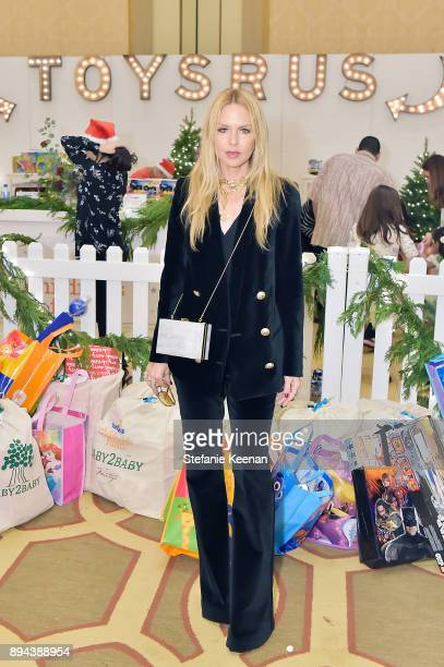 Rachel Zoe attends The Baby2Baby Holiday Party presented by Toys'R'Us at Montage Beverly Hills at Montage Beverly Hills on December 17 2017 in...