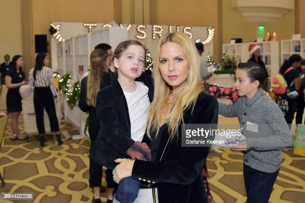 Rachel Zoe attends The Baby2Baby Holiday Party Presented By ToysRUs At Montage Beverly Hills at Montage Beverly Hills on December 17 2017 in Beverly...