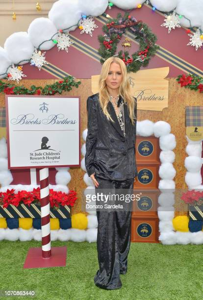 Rachel Zoe attends the Brooks Brothers and St Jude Children's Research Hospital Annual Holiday Celebration at the Beverly Wilshire Four Seasons Hotel...