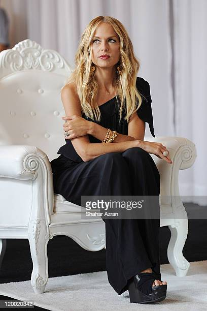 Rachel Zoe attends the Exude lipstick line launch at The Plaza Hotel on July 28 2011 in New York City