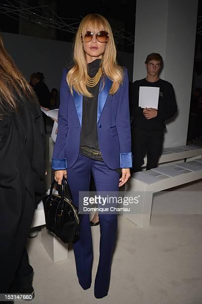 Rachel Zoe attends the Giambattista Valli Spring / Summer 2013 show as part of Paris Fashion Week on October 1, 2012 in Paris, France.