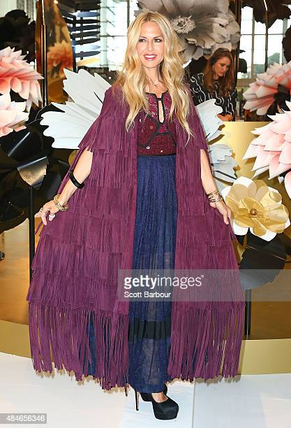 Rachel Zoe attends the 'Icons of Style' breakfast at Chadstone Shopping Centre on August 21, 2015 in Melbourne, Australia.