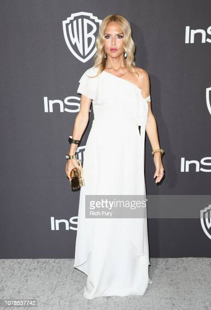 Rachel Zoe attends the InStyle And Warner Bros Golden Globes After Party 2019 at The Beverly Hilton Hotel on January 6 2019 in Beverly Hills...