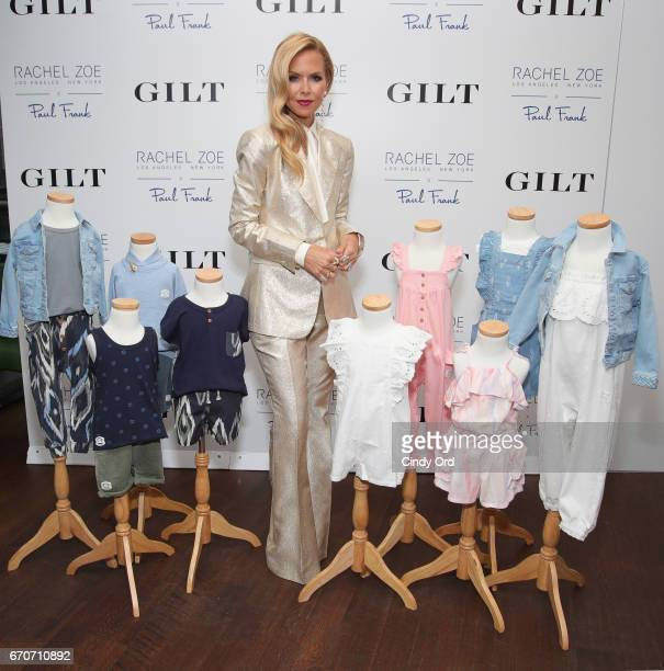 Rachel Zoe attends the launch of an exclusive children's collection hosted by Gilt Rachel Zoe and Paul Frank at Catch NYC on April 19 2017 in New...