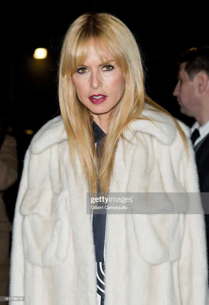 Rachel Zoe attends the Marc Jacobs Fall 2013 Mercedes-Benz Fashion Show at N.Y. State Armory on February 14, 2013 in New York City.