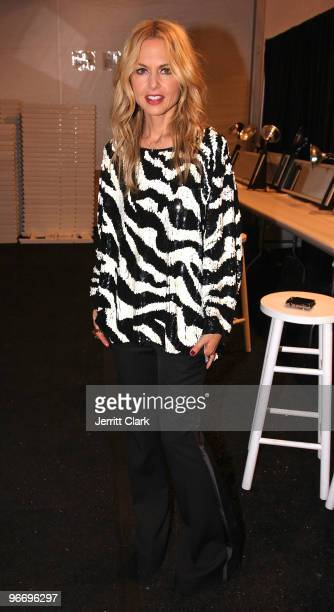 Rachel Zoe attends the QVC Style Party to Kick Off MercedesBenz Fashion Week in Bryant Park on February 13 2010 in New York City