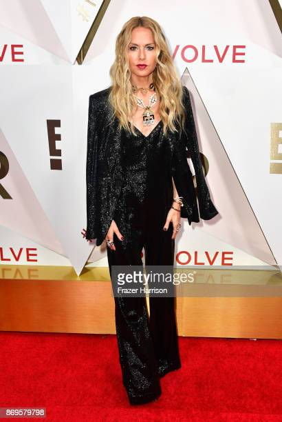 Rachel Zoe attends the #REVOLVEawards at DREAM Hollywood on November 2 2017 in Hollywood California