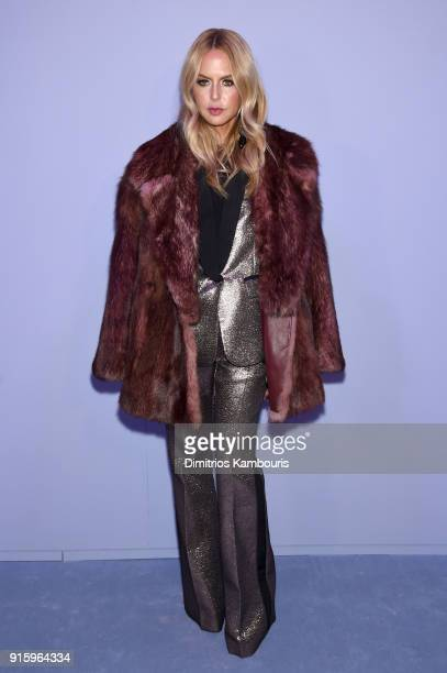 Rachel Zoe attends the Tom Ford Fall/Winter 2018 Women's Runway Show at the Park Avenue Armory on February 8 2018 in New York City