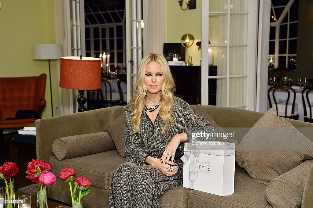 The Zoe Report's Box of Style Winter Edition Dinner : News Photo