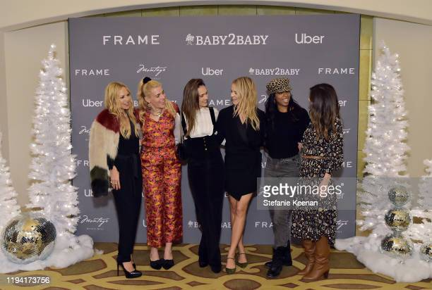 Rachel Zoe, Busy Philipps, Jessica Alba, Kelly Sawyer Patricof, Kelly Rowland and Norah Weinstein attend The Baby2Baby Holiday Party Presented By...