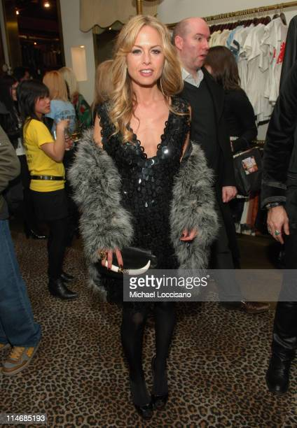 Rachel Zoe during What Comes Around Goes Around Vintage Rock TShirt Book Launch Party and Exhibition February 6 2007 at What Comes Around Goes Around...
