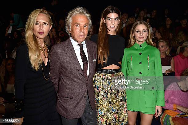 Rachel Zoe Giancarlo Giammetti Bianca Brandolini d'Adda and Olivia Palermo attend the Valentino show as part of the Paris Fashion Week Womenswear...