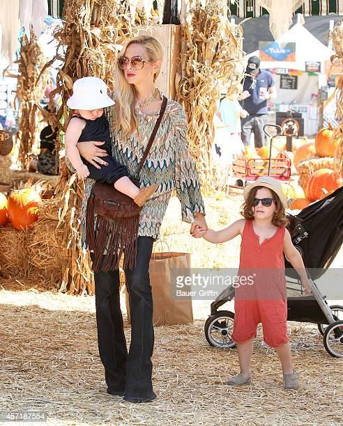 Rachel Zoe is seen on October 13 2014 in Los Angeles California