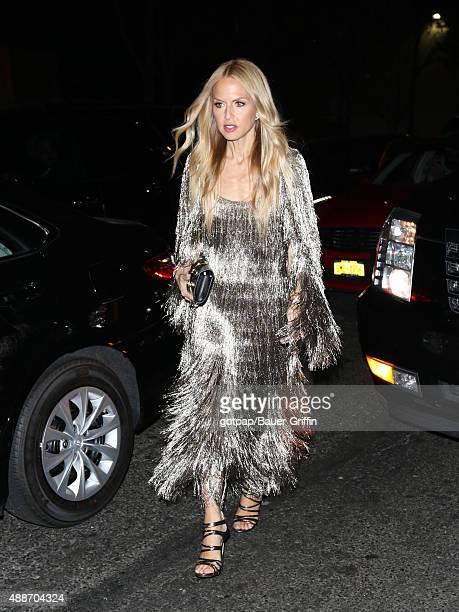 Rachel Zoe is seen on September 16 2015 in New York City