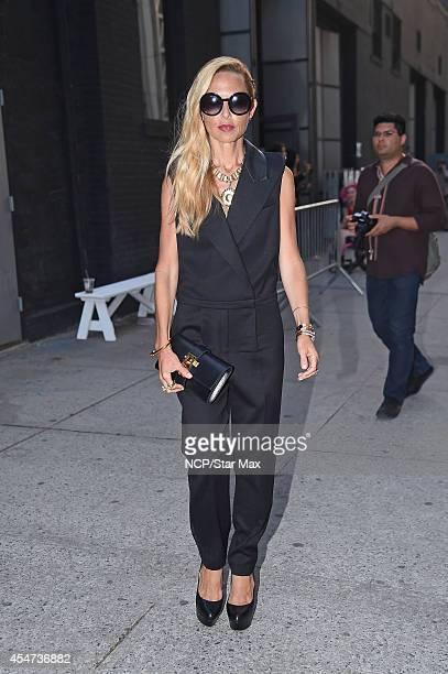 Rachel Zoe is seen on September 5 2014 in New York City