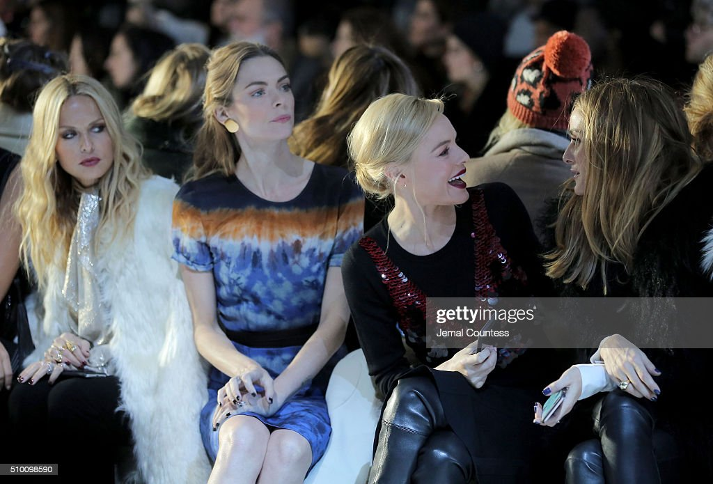 Rachel Zoe, Jaime King, Kate Bosworth and Olivia Palermo attend the Altuzarra Fall 2016 fashion show during New York Fashion Week at Spring Studios on February 13, 2016 in New York City.