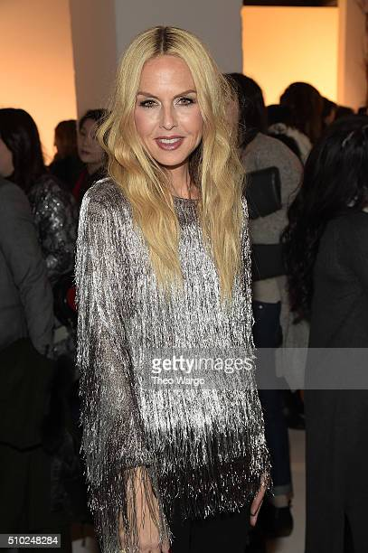 Rachel Zoe Presentation Fall 2016 New York Fashion Week The Shows at The Space Skylight at Clarkson Sq on February 14 2016 in New York City